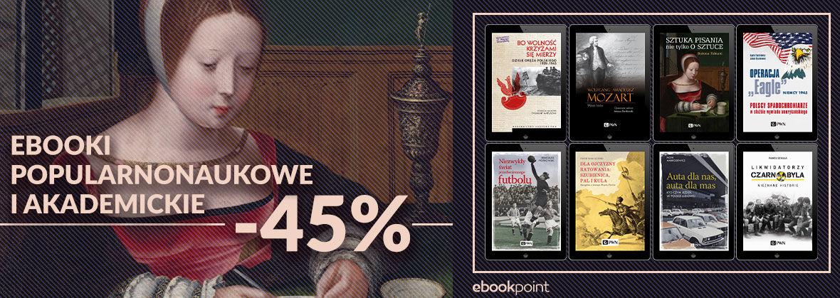 Promocja na ebooki Reportaże i literatura faktu / -45%